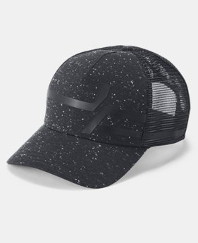 New Arrival  Men's UA Macro Pro Fit Trucker Cap  3  Colors Available $35