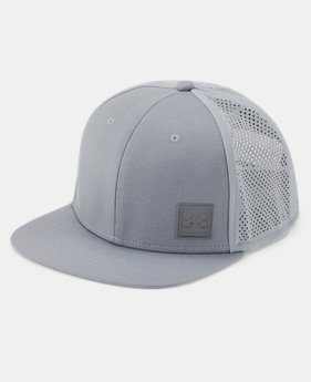 New Arrival Men's UA SuperVent Flat Brim 2.0 Cap  1  Color Available $30