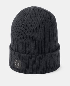 Best Seller Men s UA Truckstop 2.0 Beanie 1 Color Available  22 0518a9c2075