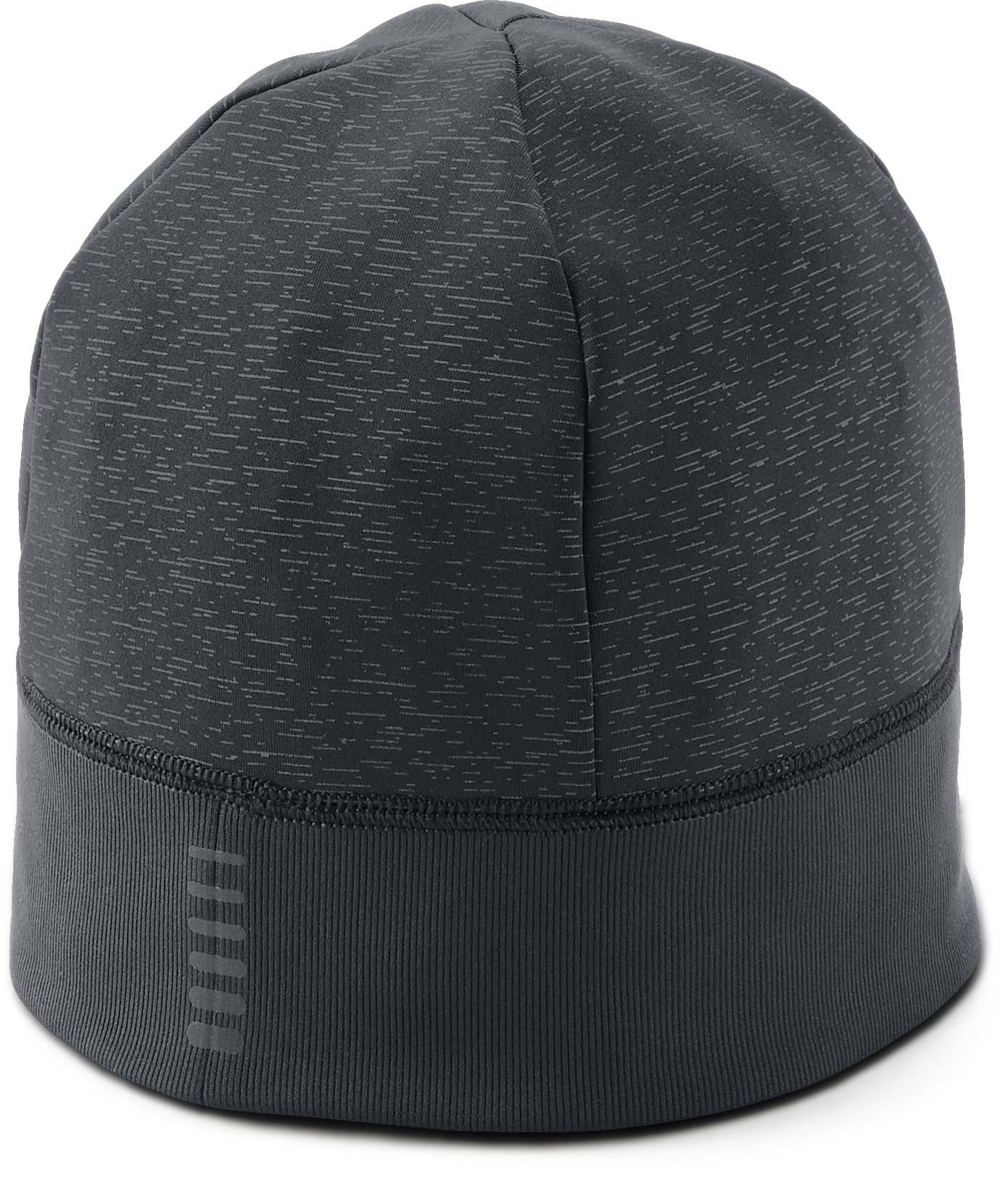 Men's UA Storm Run Beanie, Black ,