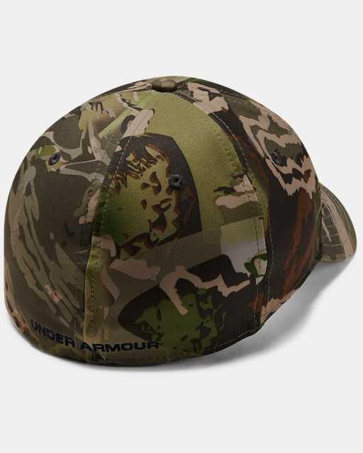 Men's UA Camo Stretch Fit Cap Updated