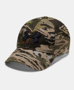 01861abbf04 Men s UA Camo Stretch Fit Cap Updated 3 Colors Available  35