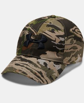 New Arrival Men's UA Camo Stretch Fit Cap Updated FREE U.S. SHIPPING 3  Colors Available $30