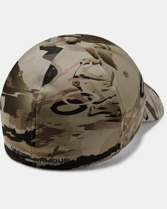 Men's UA Camo Stretch Fit Cap Updated, Misc/Assorted, pdpMainDesktop image number 1