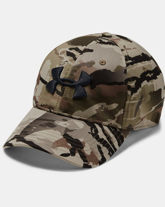 Men's UA Camo Stretch Fit Cap Updated, Misc/Assorted, pdpMainDesktop image number 0