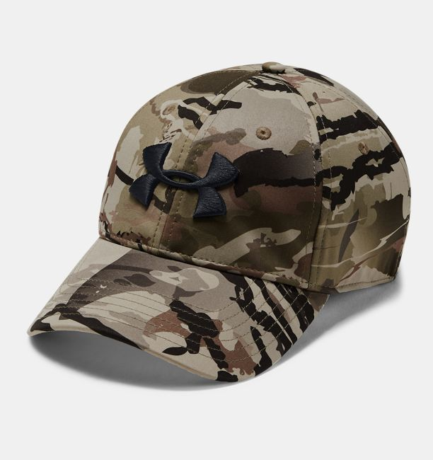 412265fcd1b Men s UA Camo Stretch Fit Cap Updated