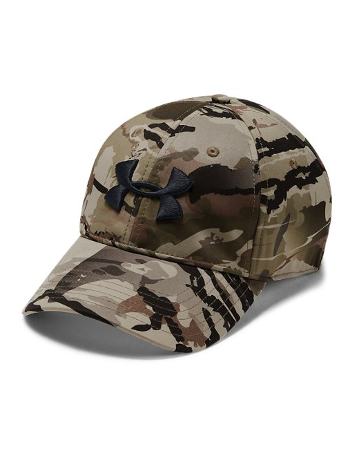 reputable site d7d58 b6fbd This review is fromMen s UA Camo Stretch Fit Cap Updated.