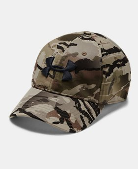 Men s UA Camo Stretch Fit Cap Updated 2 Colors Available  30 7bf04847e9e5