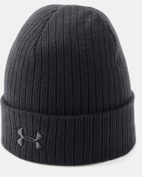 Men's UA Tactical Stealth 2.0 Beanie, Black, pdpMainDesktop image number 0