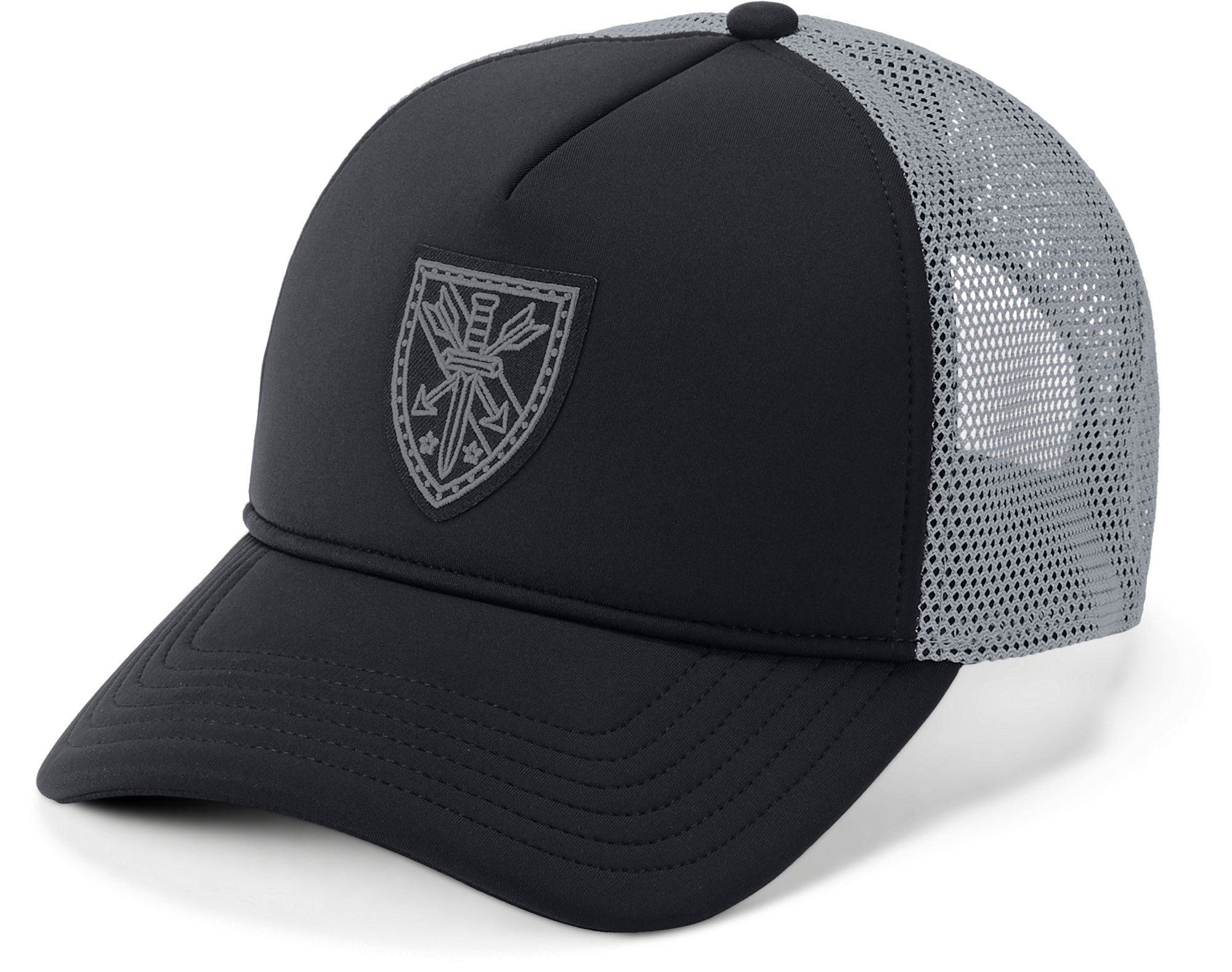 Men's UA Freedom Trucker Cap, Black ,