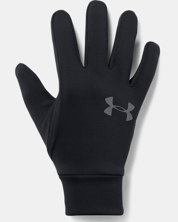 Men's UA Armour® Liner 2.0 Gloves, Black, pdpMainDesktop image number 0