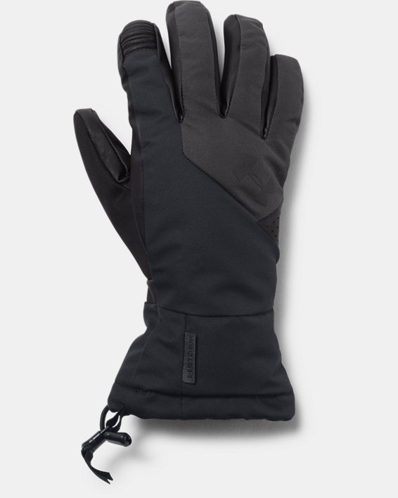 Men's UA Mountain Gloves, Black, pdpMainDesktop image number 0