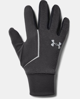 Best Seller Men's UA Storm Run Liner Gloves  3  Colors Available $30