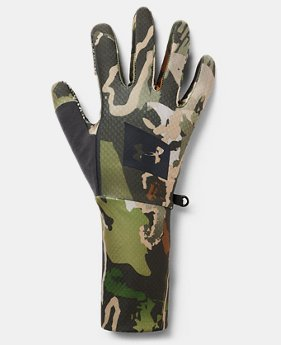 Men's UA Hunt Liner Gloves  2  Colors Available $35