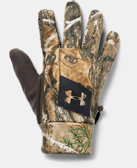 Men's UA Hunt Early Season Fleece Glove  2  Colors Available $50