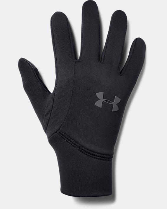 Boy's UA Armour Liner 2.0 Gloves, Black, pdpMainDesktop image number 0