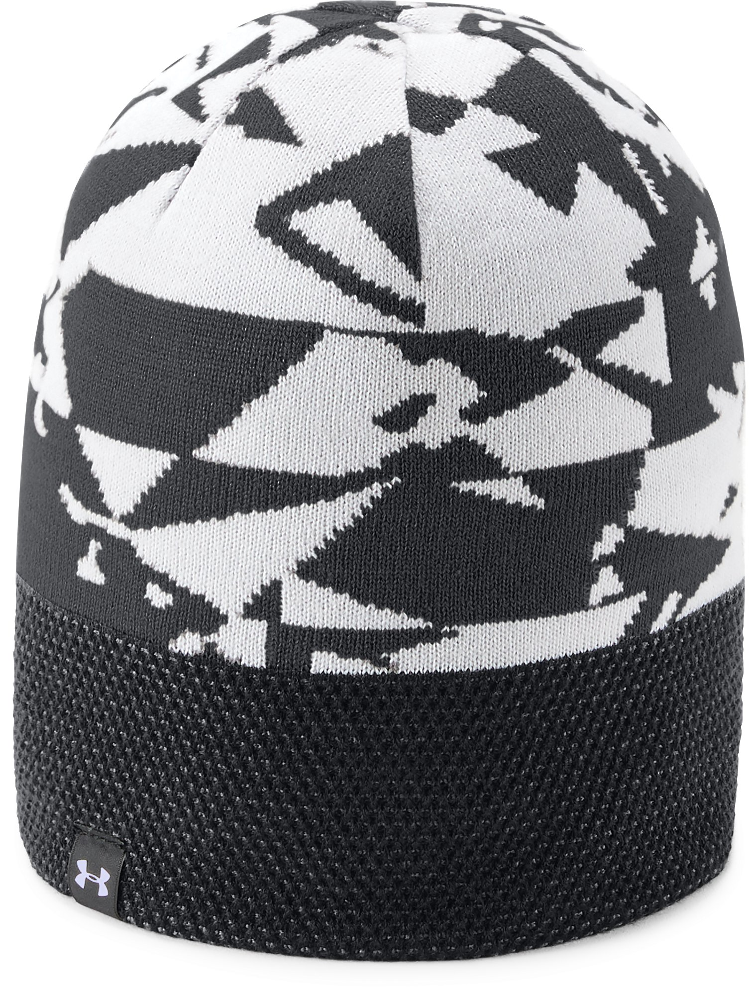 Boy's UA Reversible Beanie, Black