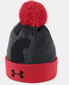 New Arrival Boy's UA Pom Beanie FREE U.S. SHIPPING 1  Color Available $25