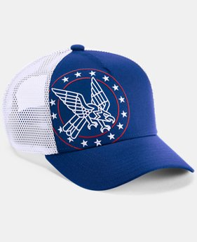 Boy's UA Freedom Trucker Cap  1  Color Available $30