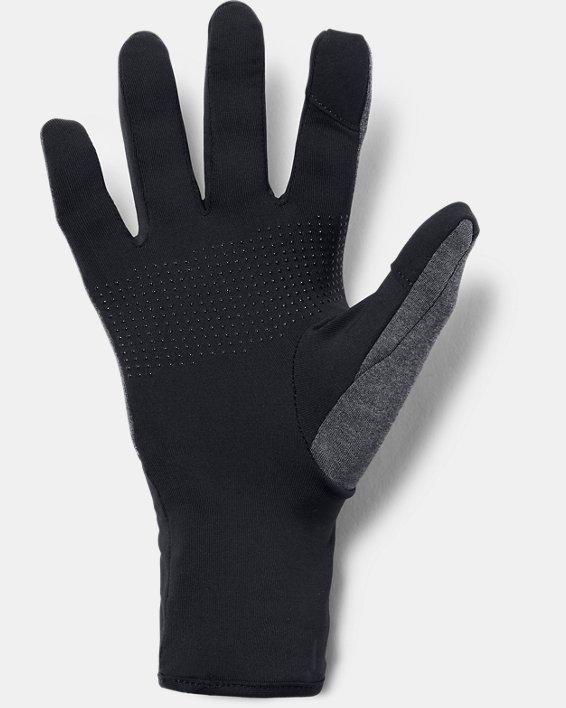 Women's UA Liner Gloves, Black, pdpMainDesktop image number 1