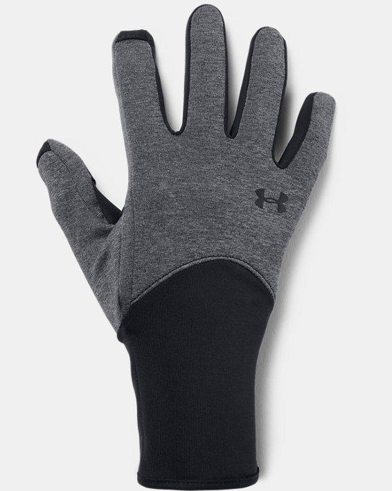 Women's UA Liner Gloves, Black, pdpMainDesktop image number 0