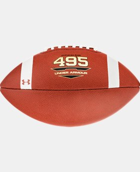 UA 495 Football  1  Color Available $30