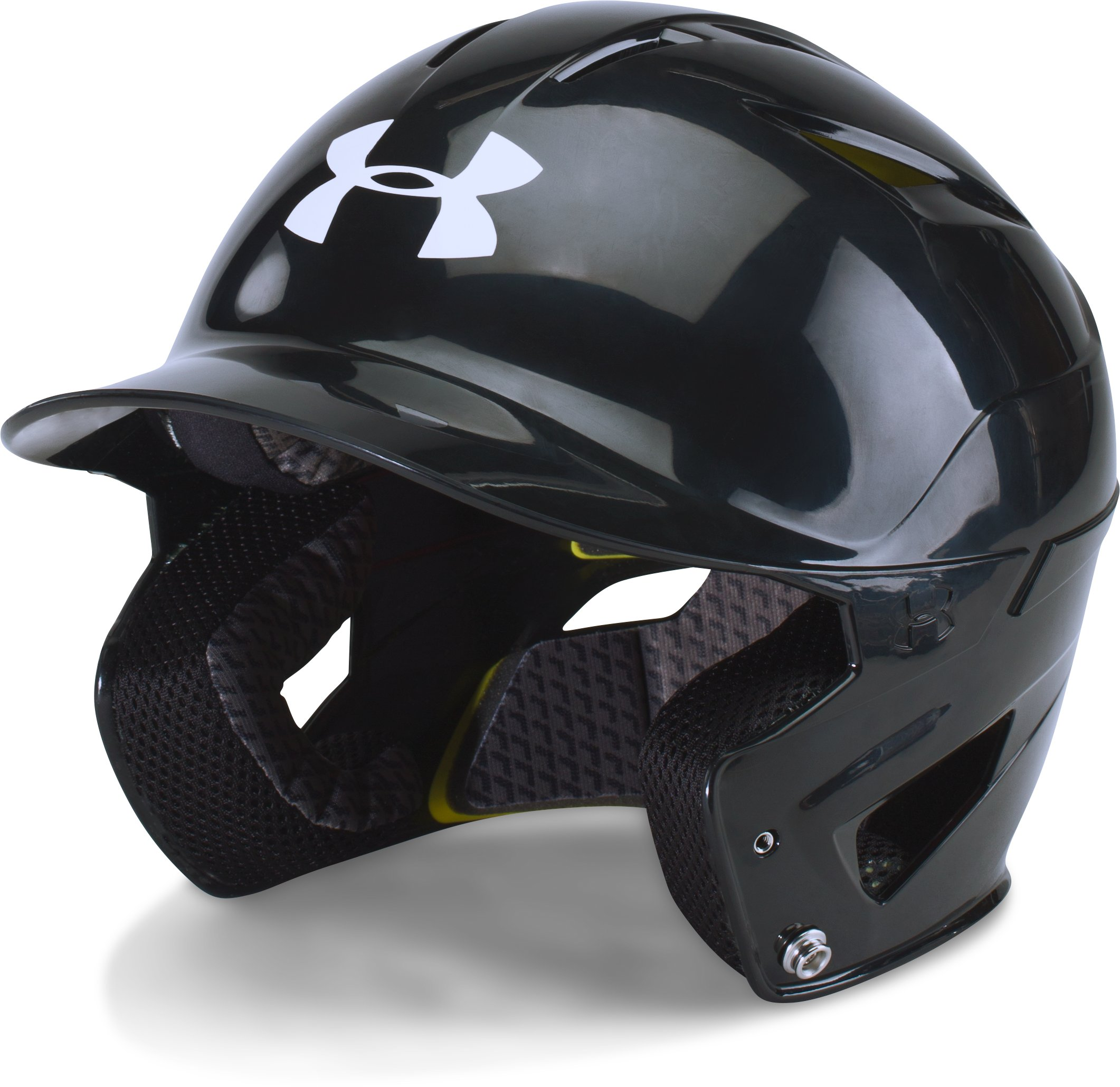 Men's UA Converge Batting Helmet, Black