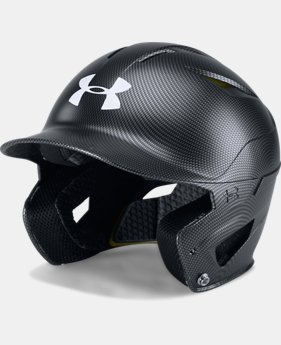 Men's UA Converge Batting Helmet Carbon Tech  1  Color Available $44.99