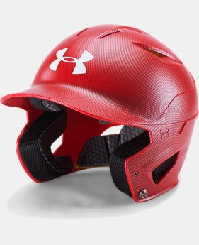 Men's UA Converge Batting Helmet Carbon Tech  1  Color Available $59.99