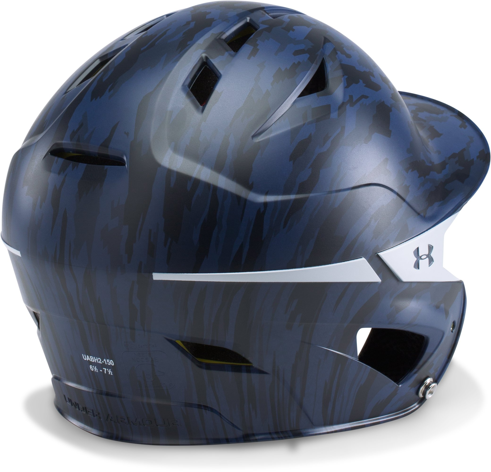 Men's UA Converge Batting Helmet Motive Camo, Midnight Navy