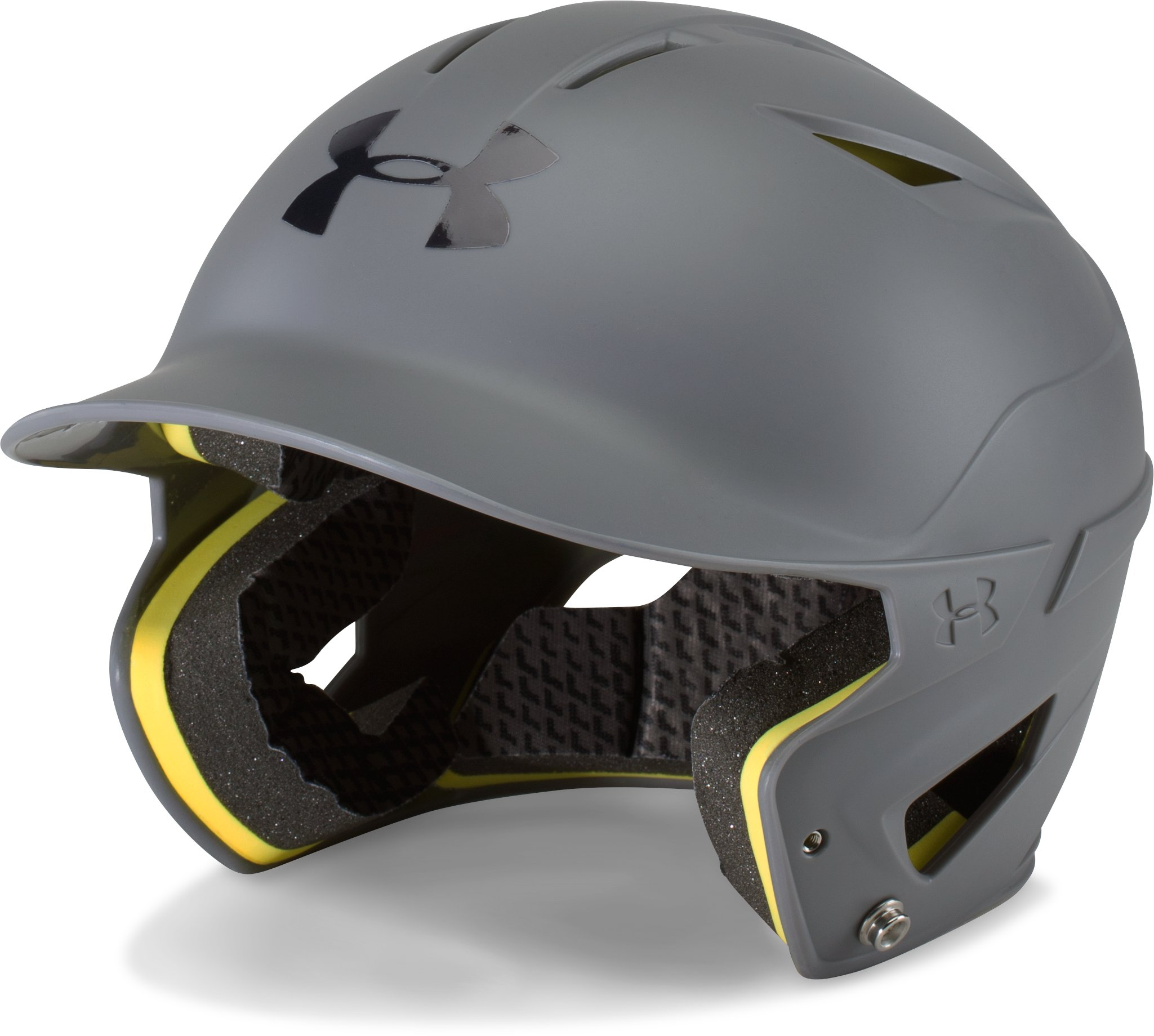 Boys' UA Converge Batting Helmet Matte, Graphite,
