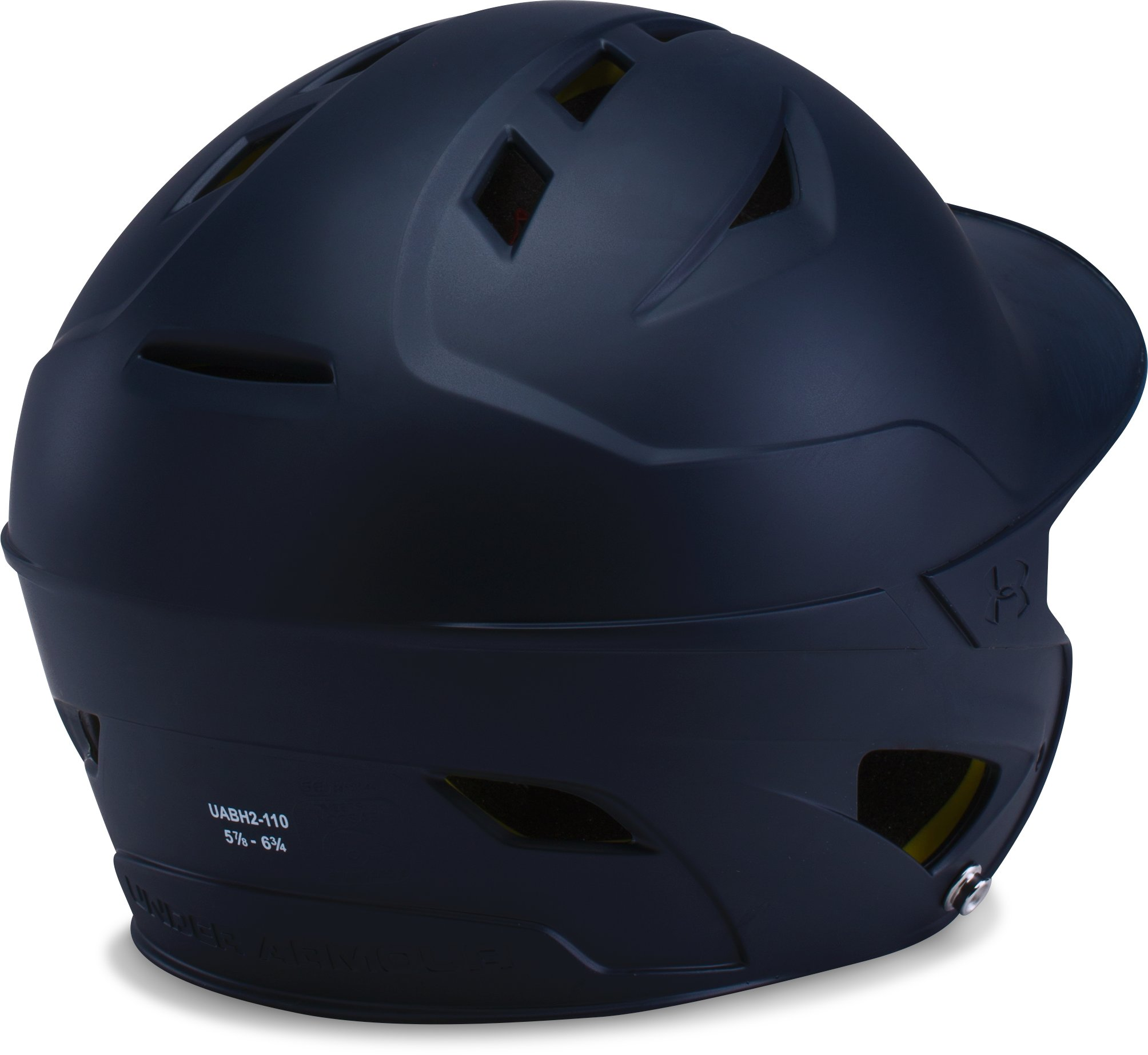 Boys' UA Converge Batting Helmet Matte, Midnight Navy, undefined