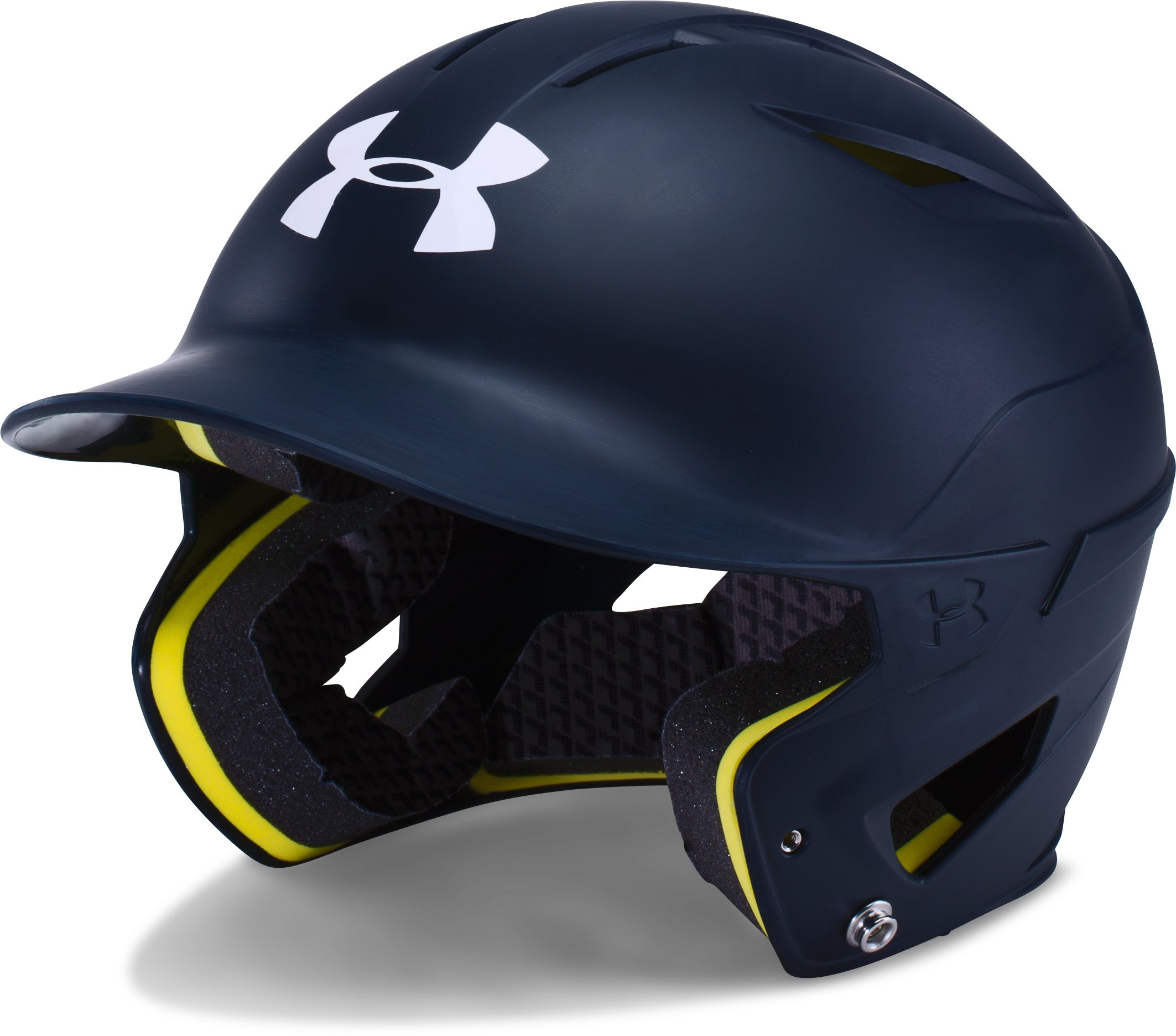 Boys' UA Converge Batting Helmet Matte, Midnight Navy