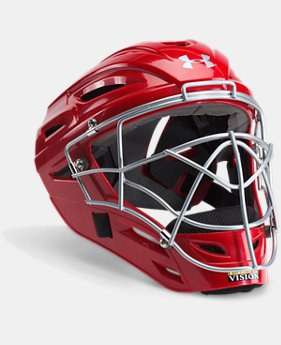 New to Outlet Men's UA Victory Catcher's Helmet  1 Color $83.99 to $89.99