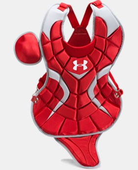 "Boys' UA Victory Senior Chest Protector 15.5""   $52.99"