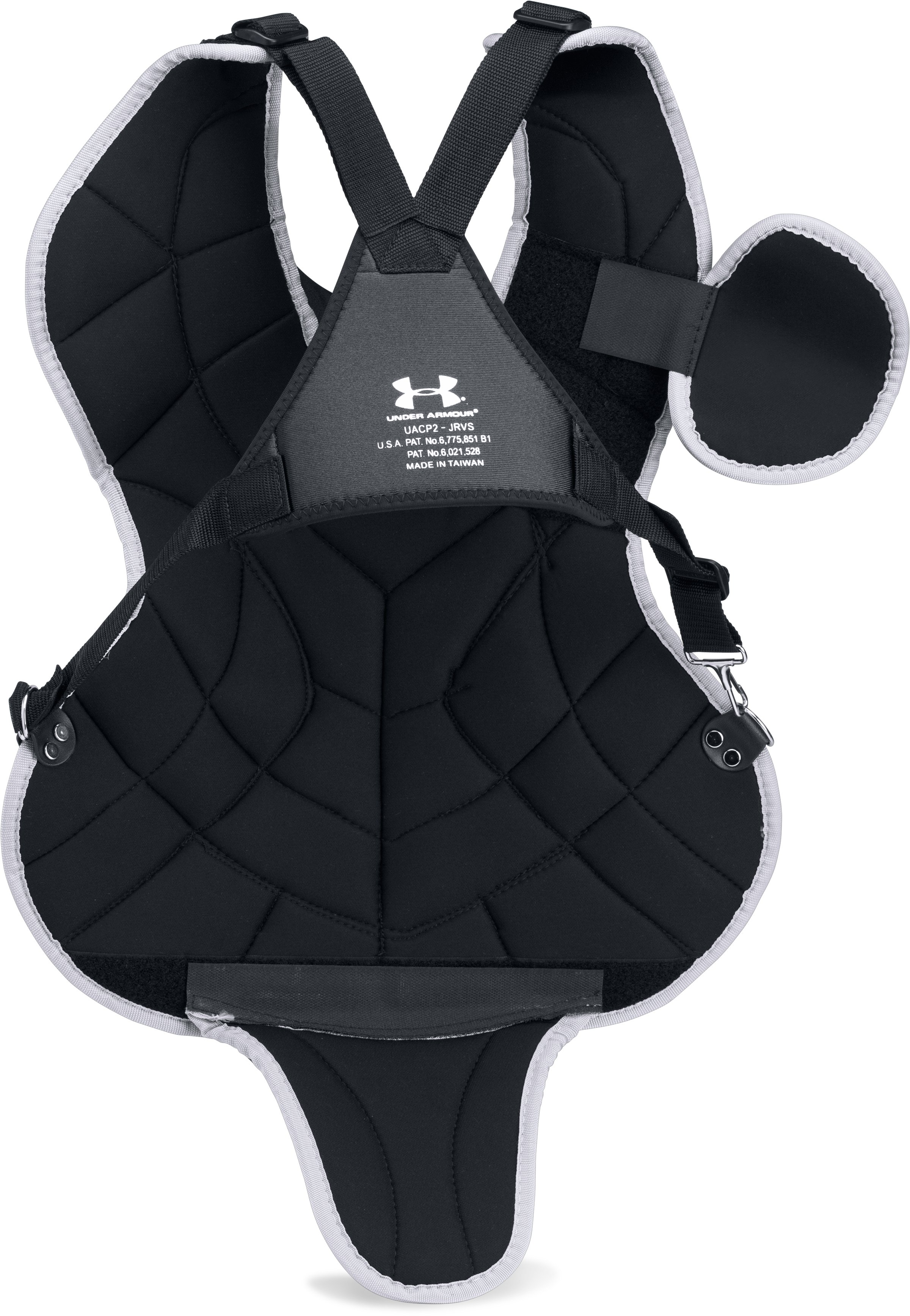 "Boys' UA Victory Junior Chest Protector 14.5"", Black"