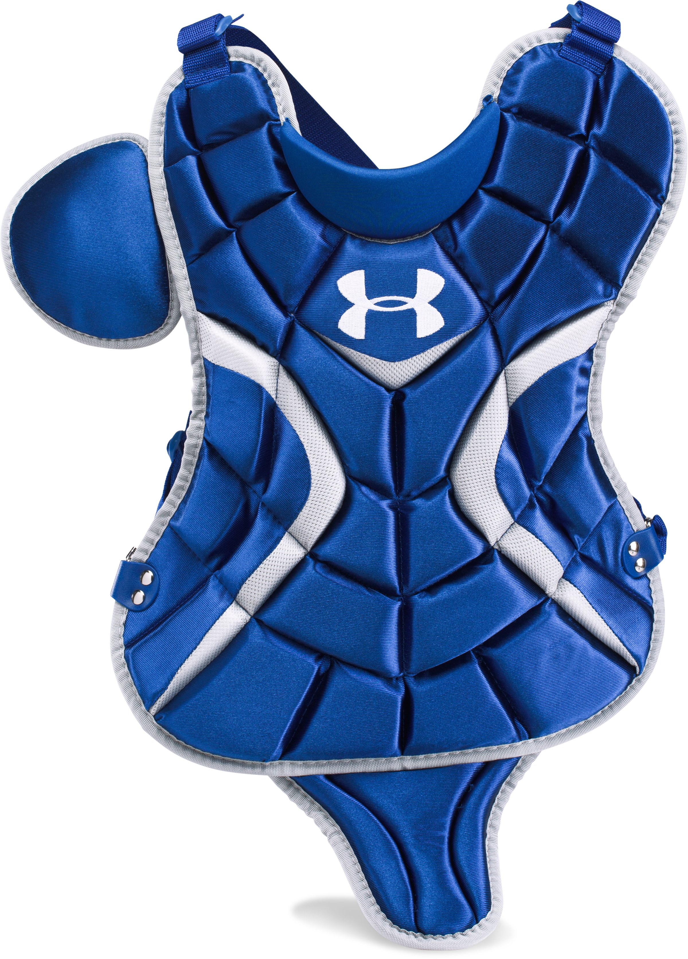 "Boys' UA Victory Youth Chest Protector 13.5"", Royal,"