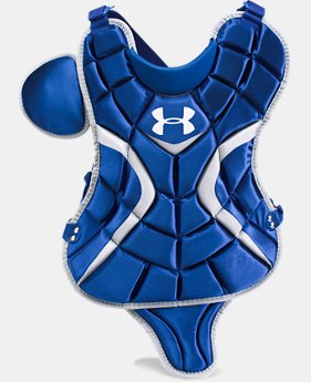 "Boys' UA Victory Youth Chest Protector 13.5""  1  Color Available $55.99"
