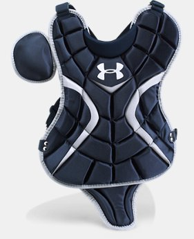 "New to Outlet Boys' UA Victory Youth Chest Protector 13.5""  1 Color $41.99"
