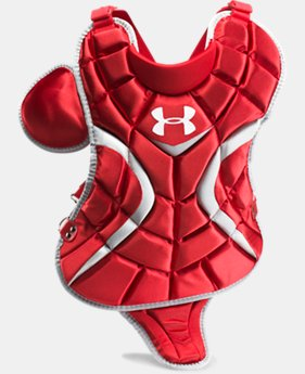 "Boys' UA Victory Youth Chest Protector 13.5""  1 Color $55.99"