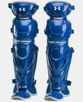 "Boys' UA Victory Senior Leg Guards 14.5""  1  Color Available $79.99"