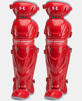 "Boys' UA Victory Senior Leg Guards 14.5""  1 Color $59.99"