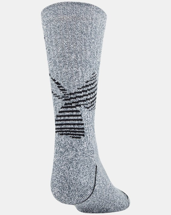 Boys' UA Crew – 3-Pack Socks, Gray, pdpMainDesktop image number 3