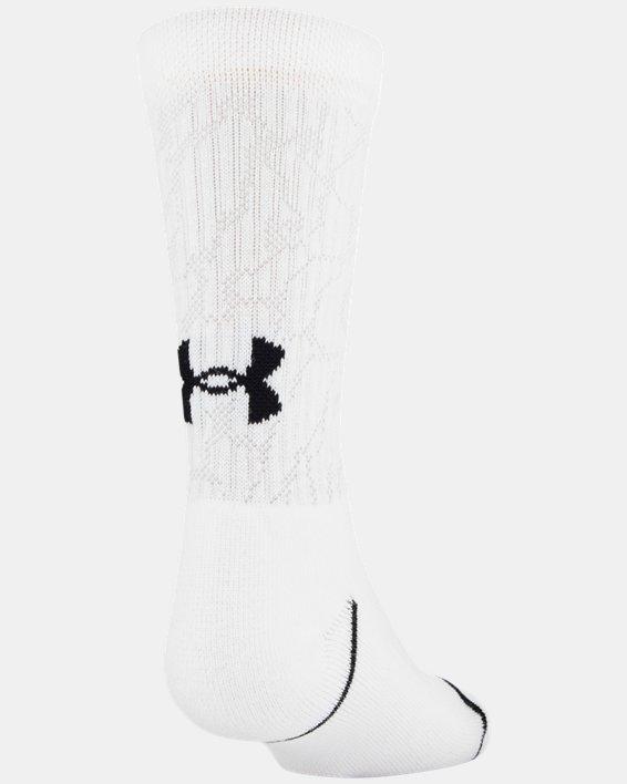 Boys' UA Crew – 3-Pack Socks, Gray, pdpMainDesktop image number 4