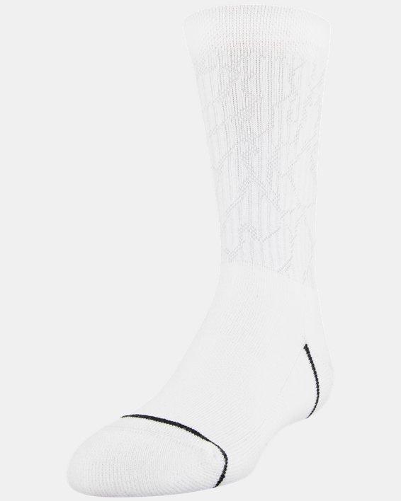 Boys' UA Crew – 3-Pack Socks, Gray, pdpMainDesktop image number 1