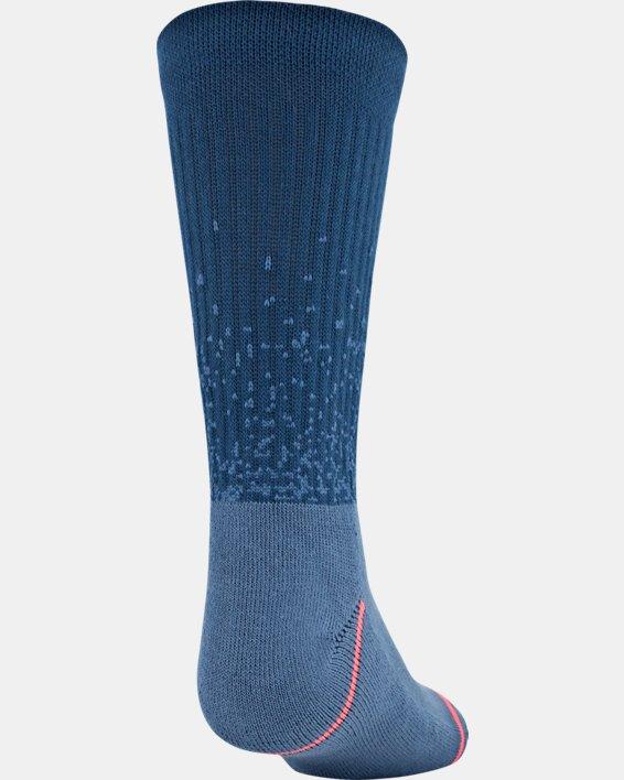 Boys' UA Crew – 3-Pack Socks, Blue, pdpMainDesktop image number 3