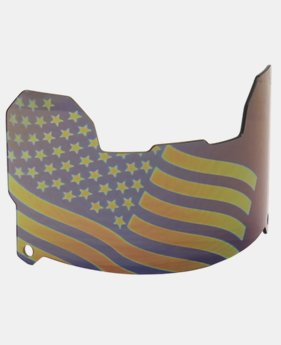 UA Flag Tinted Football Visor  1 Color $64.99
