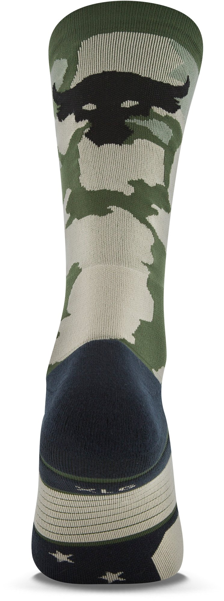 Men's UA x Project Rock Unrivaled Crew Socks, DOWNTOWN GREEN, undefined