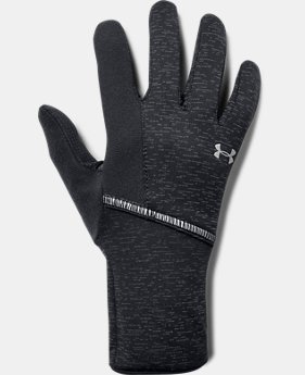 Women's UA Storm Run Liner Gloves  1  Color Available $29.99