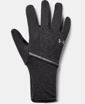 New Arrival Women's UA Storm Run Liner Gloves  1  Color Available $29.99